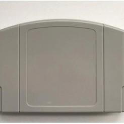 cardridge.jpg.jpg Télécharger fichier STL Porte-cartes Nintendo Switch N64 • Modèle imprimable en 3D, 3dartsvi