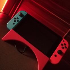 IMG_20200316_120949.jpg Download STL file Nintendo Switch Holder • 3D printing design, 3dartsvi