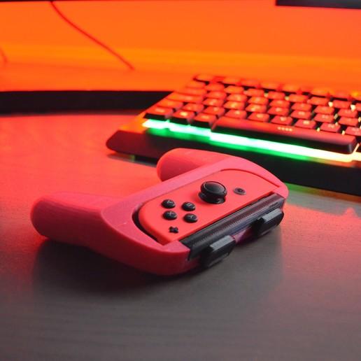 Télécharger fichier impression 3D Nintendo Switch joy con Controller, 3dartsvi