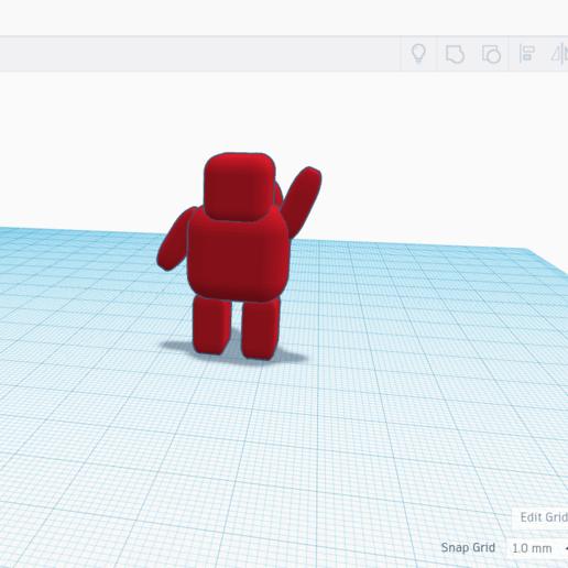Descargar STL gratis AstroBot: TinkerCAD especial, coolmodels