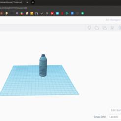 Download free STL files Water Bottle, coolmodels
