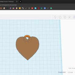 Download free 3D model Heart Keychain, coolmodels
