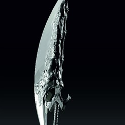 меч спарды.jpg Download free OBJ file Sparda sword • Template to 3D print, sankochey