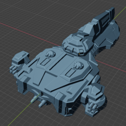 Gunslinger Class Patrol FF.PNG Download free STL file Full Thrust Starship Miniature  • Design to 3D print, Go0gleplex