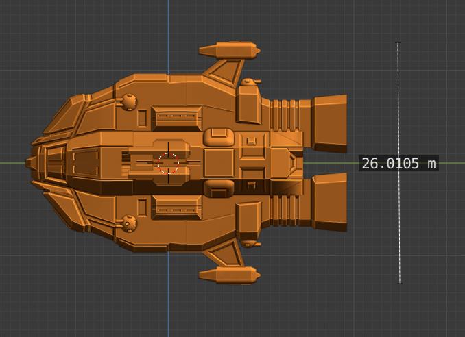Bane Class DD-profile.PNG Descargar archivo STL gratis Full Thrust Starship Miniature  • Plan de la impresora 3D, Go0gleplex
