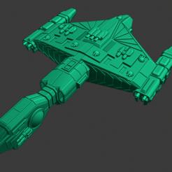 Yomi-Nogitsune-Battlecruiser.PNG Download free STL file Full Thrust Starship Miniature  • Design to 3D print, Go0gleplex