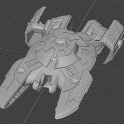 Kamorri-Mine-Sweeper.PNG Descargar archivo STL gratis Nave estelar de empuje completo en miniatura • Plan de la impresora 3D, Go0gleplex