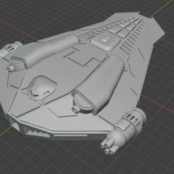 Randyr-Carnifex Class-DD.PNG Download free STL file Full Thrust Starship Miniature  • Design to 3D print, Go0gleplex