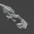 Download free STL Full Thrust Starship Miniature , Go0gleplex