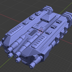 Sirius Class BB-A.PNG Download free STL file Stars and Steel Ship Miniatures • 3D print template, Go0gleplex