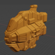 Bane Class DD.PNG Descargar archivo STL gratis Full Thrust Starship Miniature  • Plan de la impresora 3D, Go0gleplex