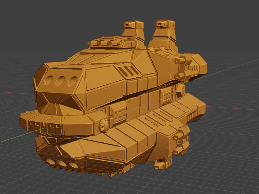 Havoc Class HC.PNG Descargar archivo STL gratis Full Thrust Starship Miniature  • Plan de la impresora 3D, Go0gleplex