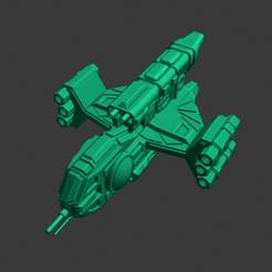 Yomi-Tenka-FF-M.PNG Download free STL file Full Thrust Starship Miniature  • Design to 3D print, Go0gleplex