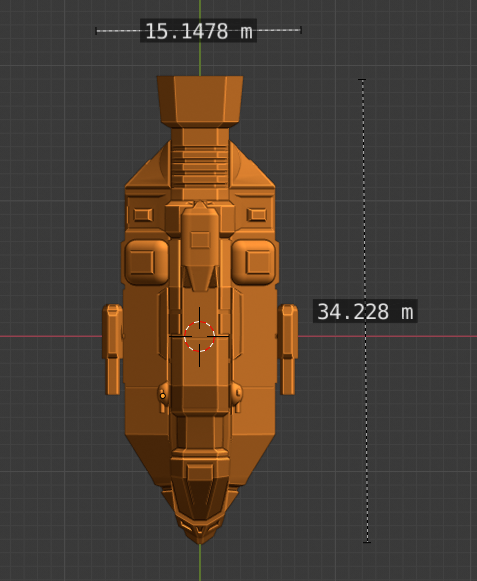 Bane Class DD-scale.PNG Descargar archivo STL gratis Full Thrust Starship Miniature  • Plan de la impresora 3D, Go0gleplex