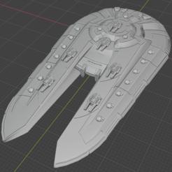 Kamorri-SDN.PNG Descargar archivo STL gratis Nave estelar de empuje completo en miniatura • Plan de la impresora 3D, Go0gleplex