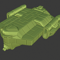 Hereford Class Light Freighter.PNG Download free STL file Full Thrust Starship Miniature  • Design to 3D print, Go0gleplex