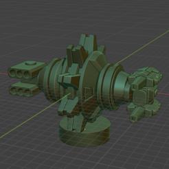 defense-sat-2.PNG Download free STL file Full Thrust Starship Miniature  • Design to 3D print, Go0gleplex
