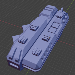 Garmr Class CVL.PNG Download free STL file Stars and Steel Ship Miniatures • 3D print template, Go0gleplex