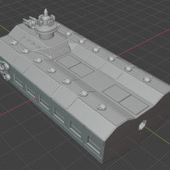 Fighter-Section.PNG Download free STL file Full Thrust Starship Miniature  • Design to 3D print, Go0gleplex