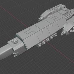 Tennae-CR.PNG Télécharger fichier STL gratuit Vaisseau spatial à pleine poussée • Plan imprimable en 3D, Go0gleplex