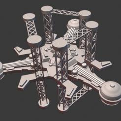 Fleet-Repair-Station-Small.PNG Download free STL file Full Thrust Starship Miniature  • Design to 3D print, Go0gleplex