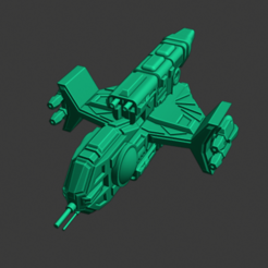 Yomi-Itsumade-FF.PNG Download free STL file Full Thrust Starship Miniature  • Design to 3D print, Go0gleplex