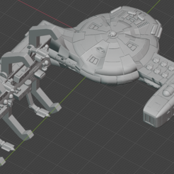Descargar archivos 3D gratis Nave estelar de empuje completo en miniatura, Go0gleplex