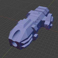 Barghest Class DD-M.PNG Download free STL file Stars and Steel Ship Miniatures • 3D print template, Go0gleplex