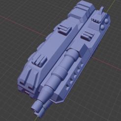Komainu Class CA.PNG Download free STL file Stars and Steel Ship Miniatures • 3D print template, Go0gleplex