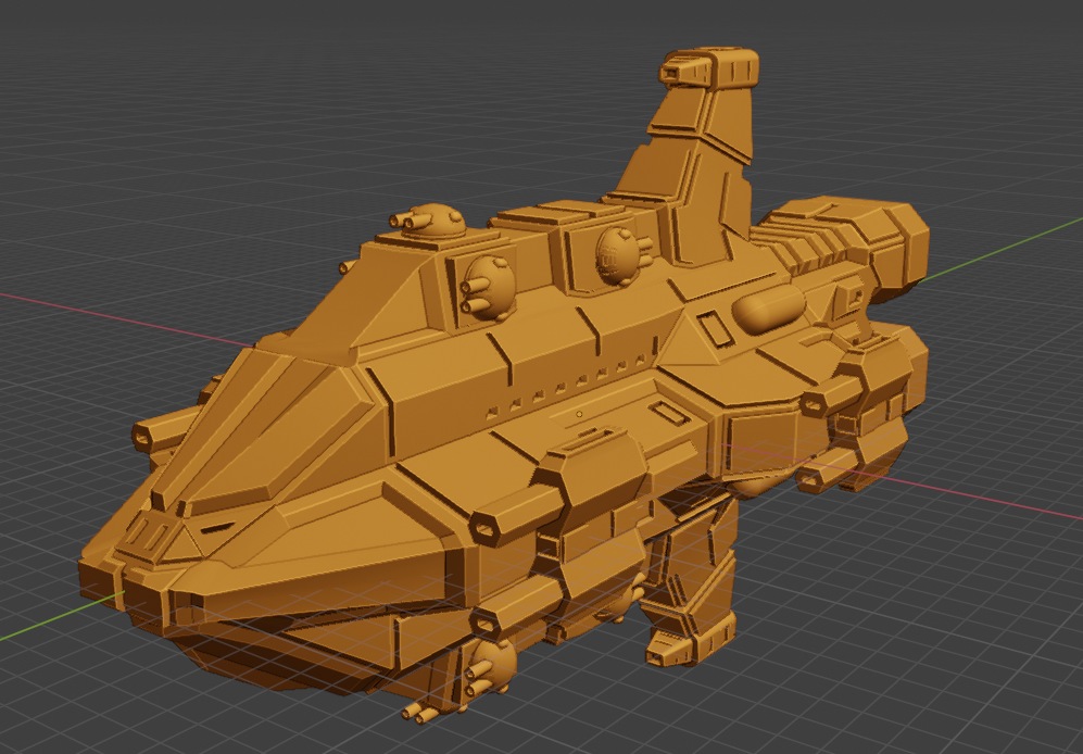 Discord Class CL.PNG Descargar archivo STL gratis Full Thrust Starship Miniature  • Plan de la impresora 3D, Go0gleplex