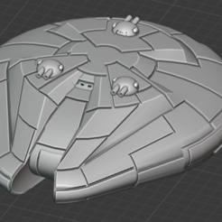 Personell-Dropship-front.PNG Download free STL file Full Thrust Starship Miniature  • Design to 3D print, Go0gleplex