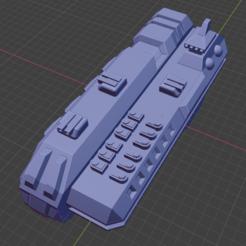 Kreelut Class Cr-M.PNG Download free STL file Stars and Steel Ship Miniatures • 3D print template, Go0gleplex