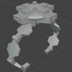 Construction-Cradle.PNG Download free STL file Full Thrust Starship Miniature  • Design to 3D print, Go0gleplex