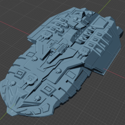 Tempest Class Tactical CA.PNG Download free STL file Full Thrust Starship Miniature  • Design to 3D print, Go0gleplex