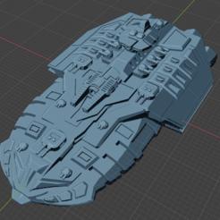 Tempest Class Tactical CA.PNG Télécharger fichier STL gratuit Vaisseau spatial à pleine poussée • Plan imprimable en 3D, Go0gleplex