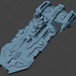 Wolfhound Class DD.PNG Download free STL file Full Thrust Starship Miniature  • Design to 3D print, Go0gleplex