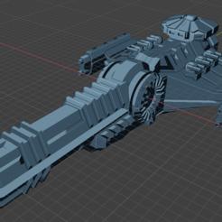 Longbow Class SBDD.PNG Download free STL file Full Thrust Starship Miniature  • Design to 3D print, Go0gleplex