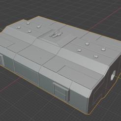 warehouse.PNG Download free STL file Full Thrust Starship Miniature  • Design to 3D print, Go0gleplex