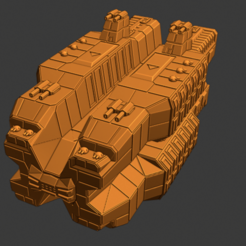 Plague Class CV.PNG Download free STL file Full Thrust Starship Miniature  • Design to 3D print, Go0gleplex