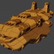 Menace Class BC.PNG Descargar archivo STL gratis Full Thrust Starship Miniature  • Plan de la impresora 3D, Go0gleplex