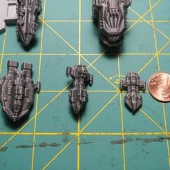 20200915_201749.jpg Download free STL file Full Thrust Starship Miniature  • Design to 3D print, Go0gleplex