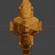 Bane Class DD-bow.PNG Descargar archivo STL gratis Full Thrust Starship Miniature  • Plan de la impresora 3D, Go0gleplex