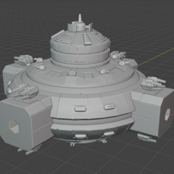 Command-Hub.PNG Download free STL file Full Thrust Starship Miniature  • Design to 3D print, Go0gleplex