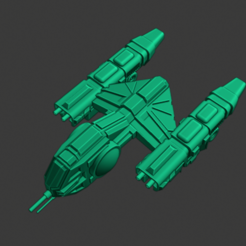 Yomi-Kappa-Cvt.PNG Download free STL file Full Thrust Starship Miniature  • Design to 3D print, Go0gleplex