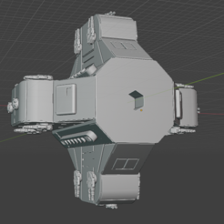 Weapons-Section.PNG Download free STL file Full Thrust Starship Miniature  • Design to 3D print, Go0gleplex