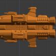Havoc Class HC-profile.PNG Descargar archivo STL gratis Full Thrust Starship Miniature  • Plan de la impresora 3D, Go0gleplex