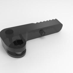 Descargar diseños 3D gratis Reemplazo de la palanca de la extrusora Ender 3, Enzaksz