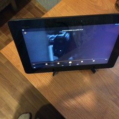 Télécharger modèle 3D gratuit Support de tablette, DrSmyrke