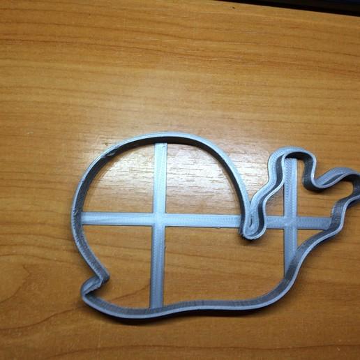 Télécharger fichier imprimante 3D gratuit Coupeuse de biscuits aux escargots, DrSmyrke