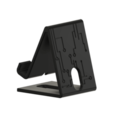 Support_TPH_v4_back.png Download free STL file Phone support - Phone stand • 3D print model, AlxVsn